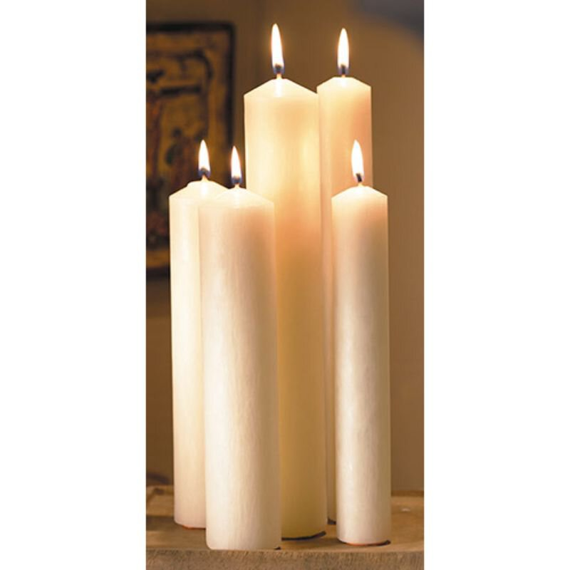 Altar Brand® 51% Beeswax Candle - 36/box