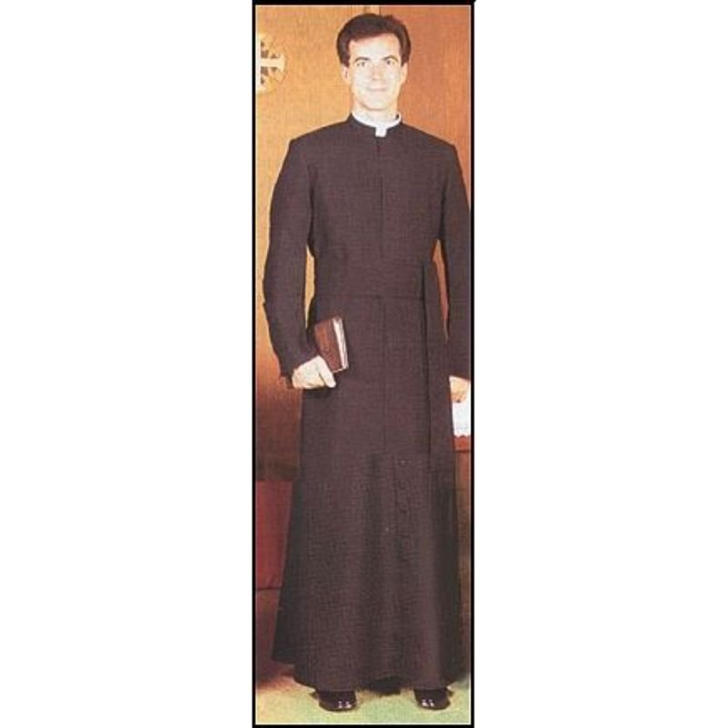Semi-Jesuit Year Rounder Cassock