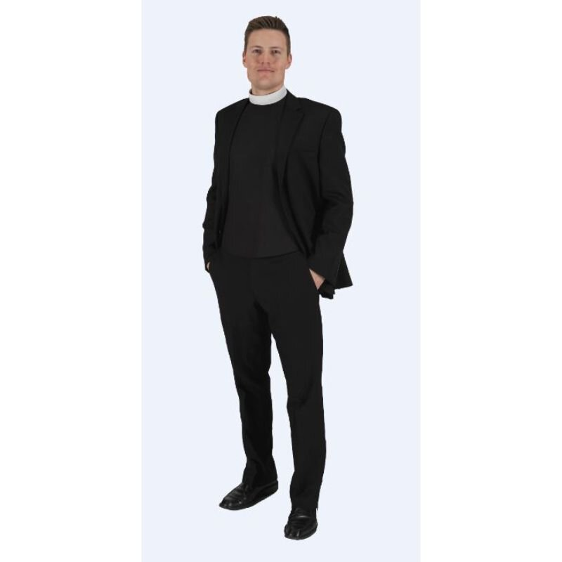 Neckband Shirtfront - Plain Front