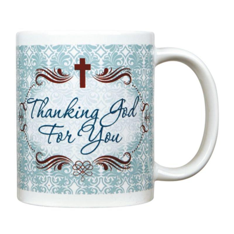 Thanking God for You Mug - 12/pk