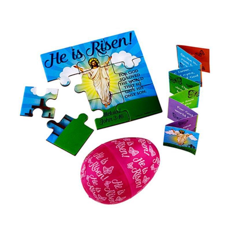 He Is Risen! Easter Eggs-24/pk