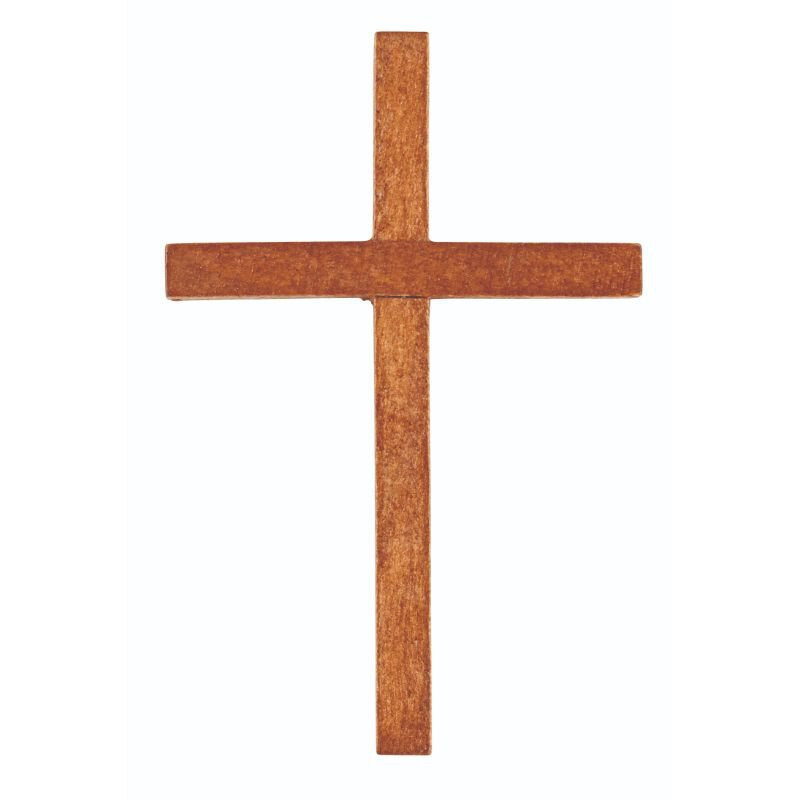 Wood Pocket Cross - 36/pk