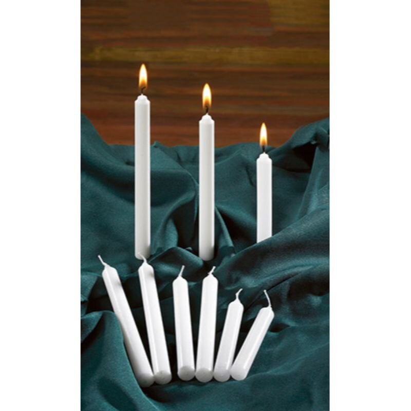 "4-1/4"" Candlelight Service Candles - 100/bx"
