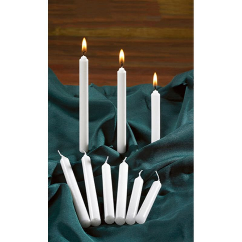 "5-3/4"" Candlelight Service Candles - 100/bx"
