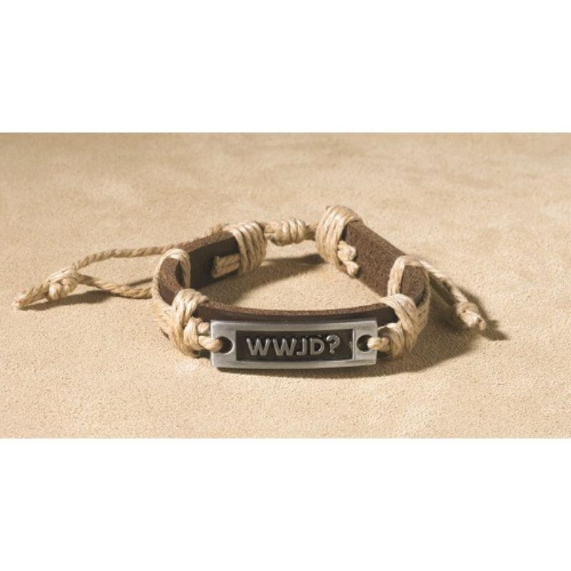 WWJD? Inspirational Bracelet