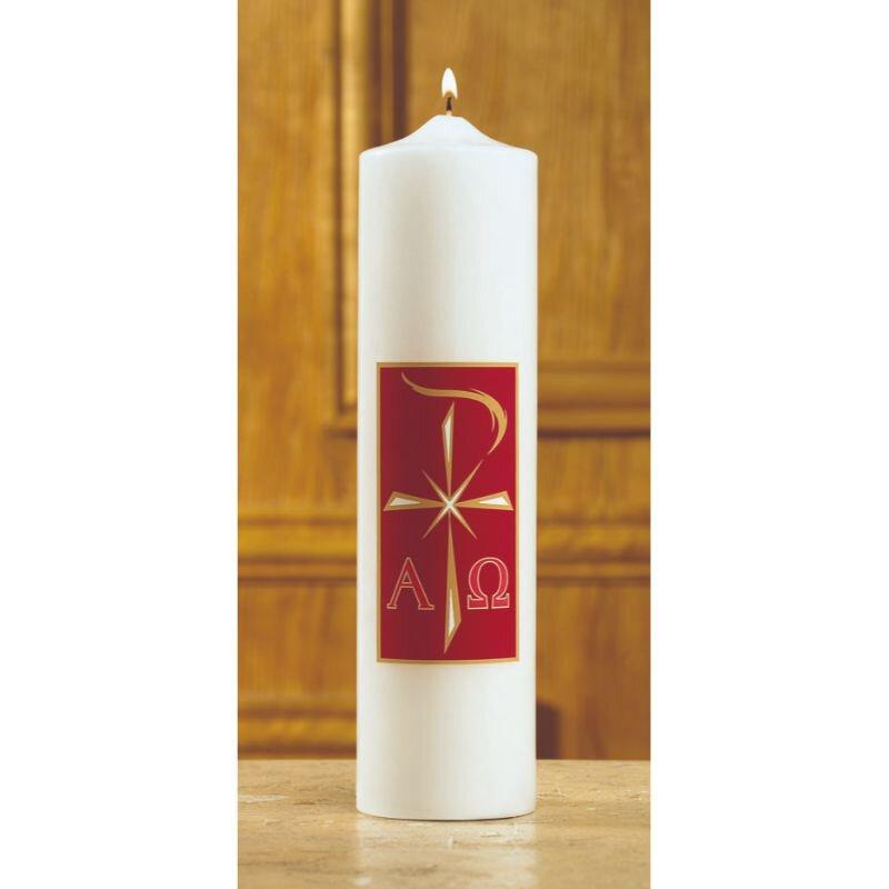 Alpha Omega Christ Candle