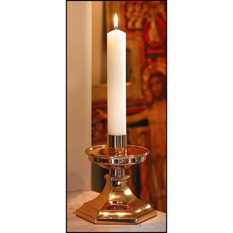 "2 x 12"" Purissima Candle: All-Purpose End"