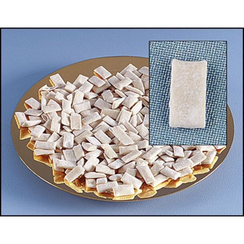 White Flat Communion Bread
