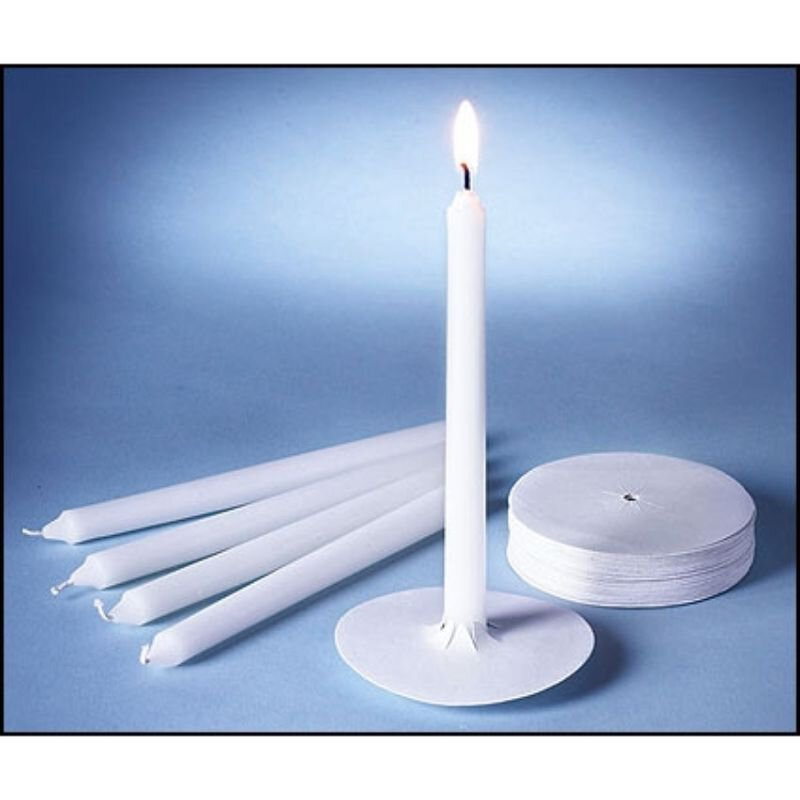 "6"" Candlelight Service Kit - 250/Box"