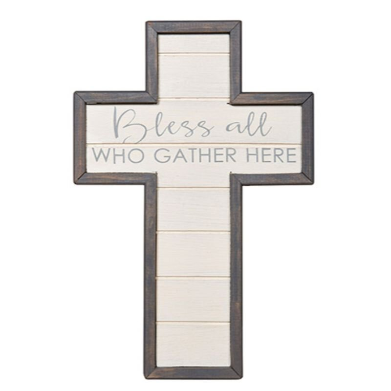 Bless all Who Gather Here Wall Cross