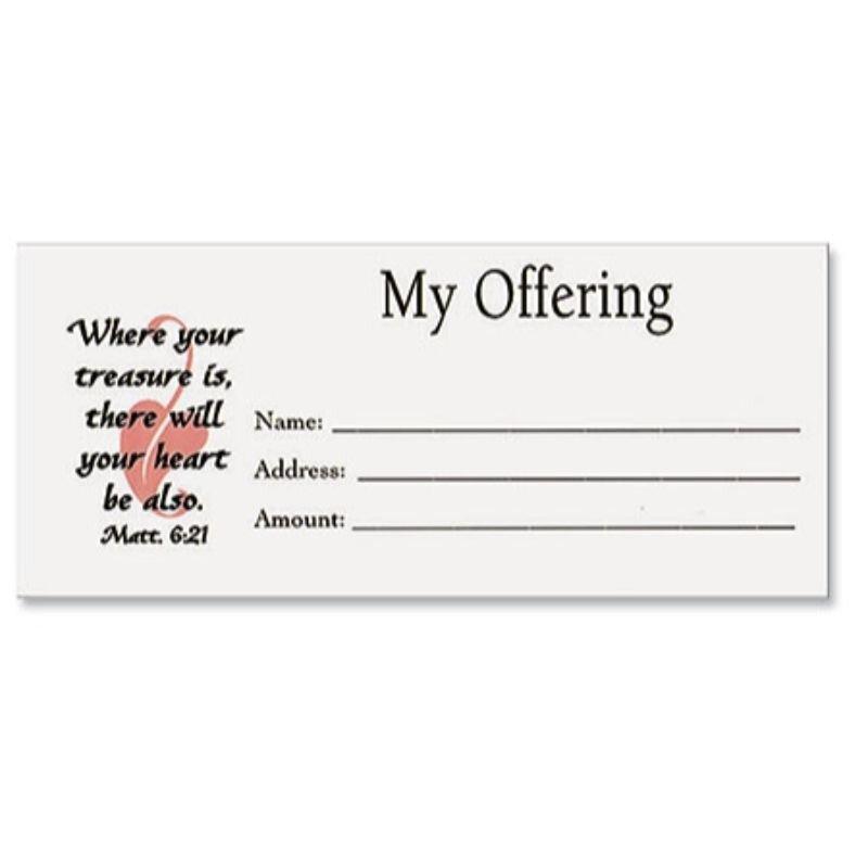 """My Offering"" Envelope"
