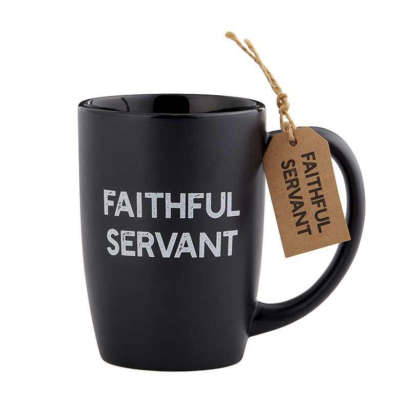 Faithful Servant Gift Mug - 6/pk