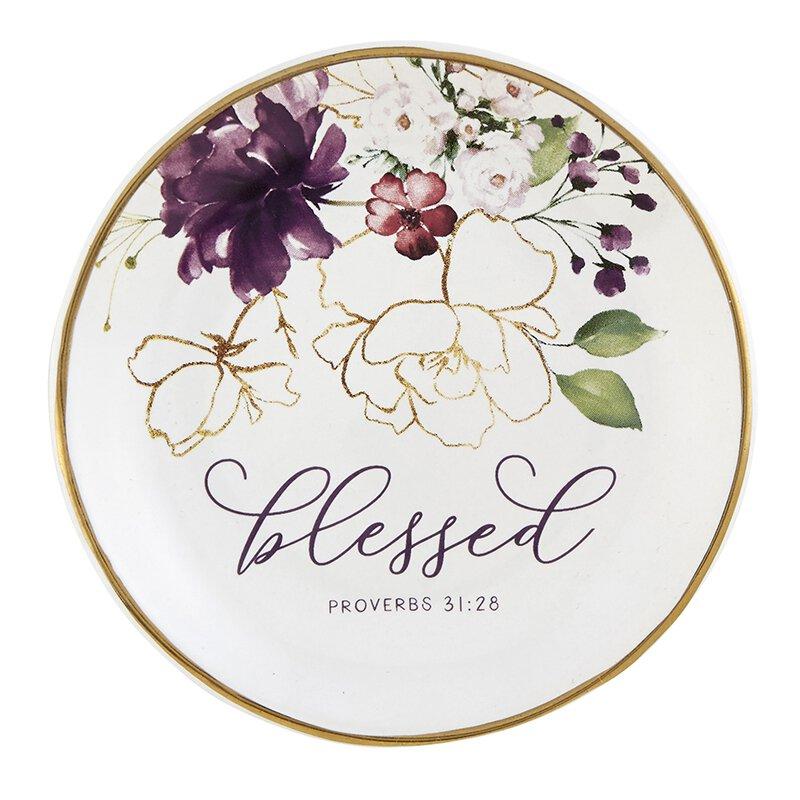 Blessed Jewelry Dish - 6/pk