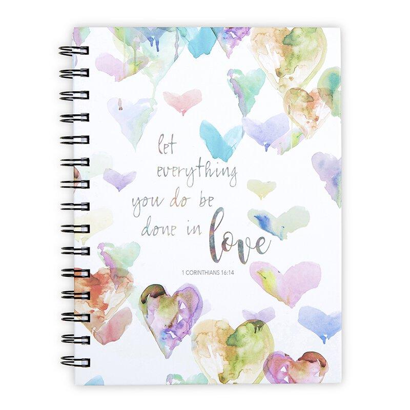 Done in Love Notebook - 6/pk