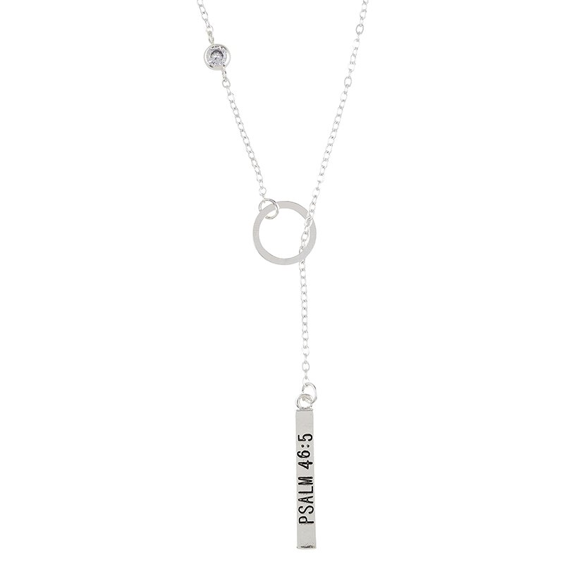 God is Within Her Lariat Necklace - 6/pk