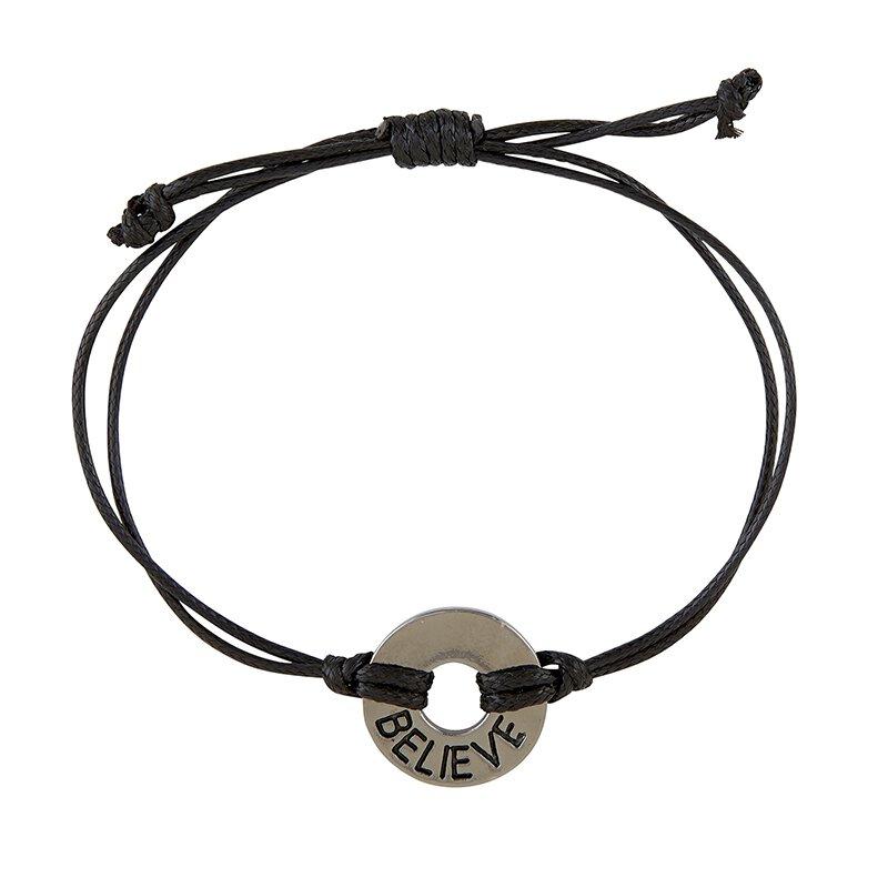 Believe Circle Bracelet - 6/pk