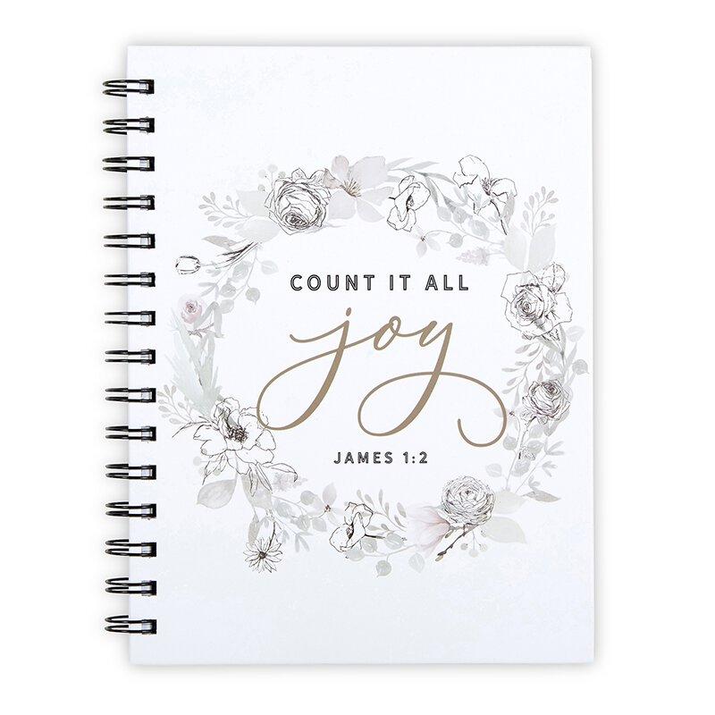 Count it All Joy Notebook - 6/pk