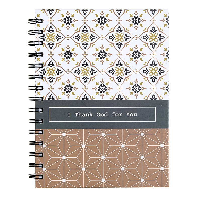 I Thank God for You Notebook - 6/pk