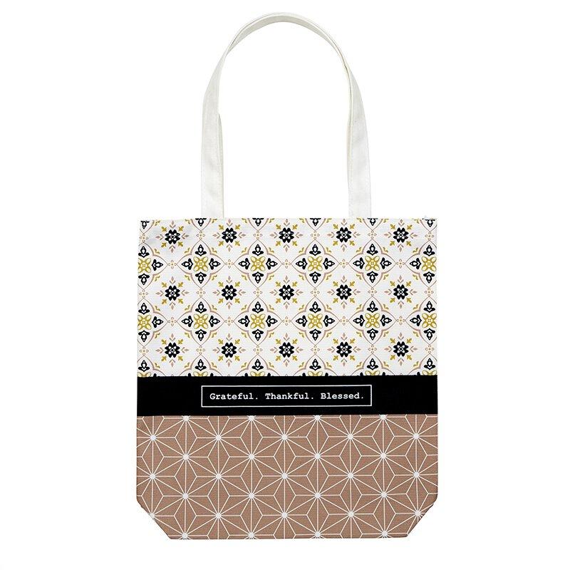 I Thank God for You Tote Bag with Inside Pocket - 8/pk