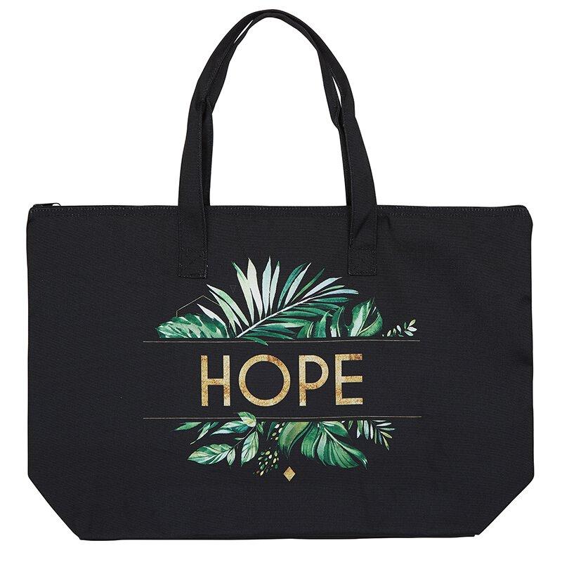 Hope Zipper Tote - 2/pk
