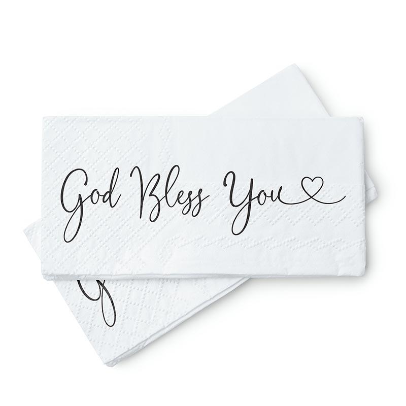 God Bless You Tissues - 18/pk