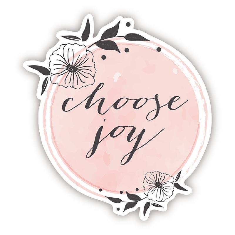 Choose Joy Decal - 24/pk