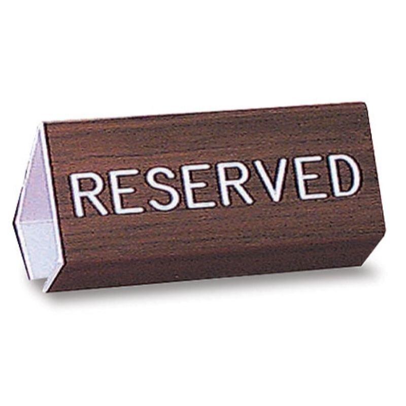 """6"""" Reserved Flex Pew Sign"""