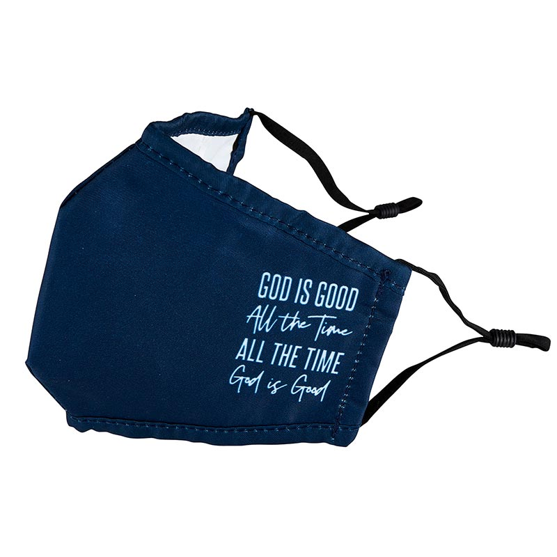 God is Good All the Time Face Mask-6pk