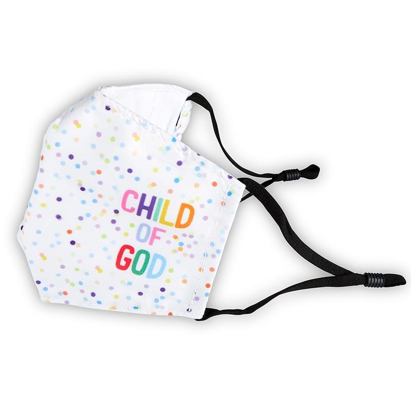 Child of God Childrens Face Mask-6pk