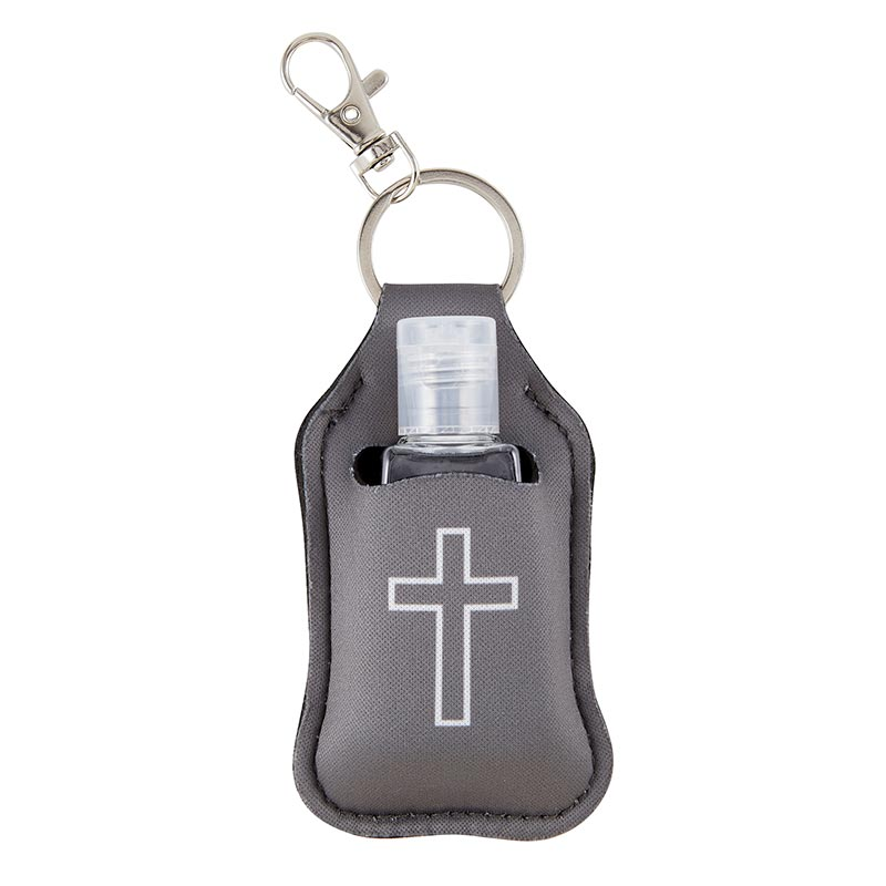 Cross Hand Sanitizer Key Chain-6pk