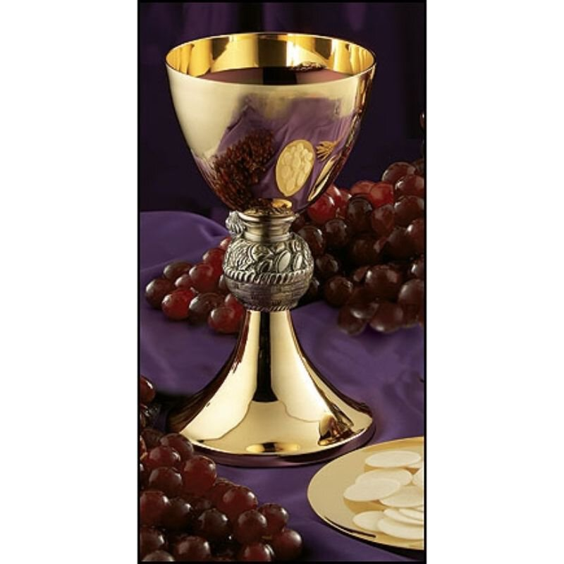 Loaves and Fish Chalice with Paten