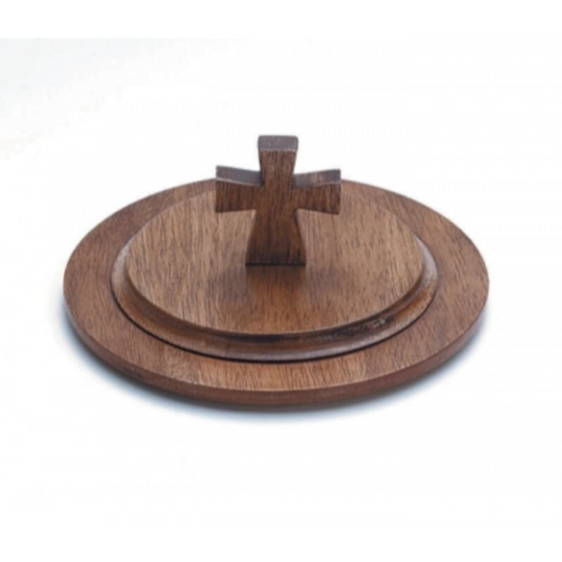 Handcrafted Maple Stacking Bread Plate Lid