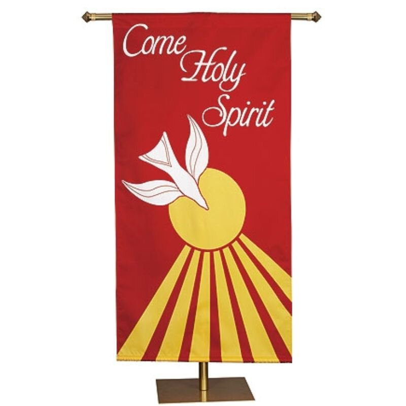 Spring Series Banner - Come Holy Spirit