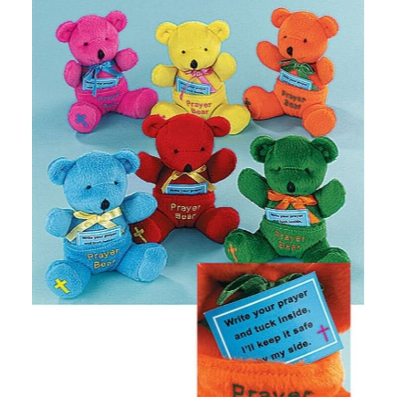 Prayer Bear - 12/pk