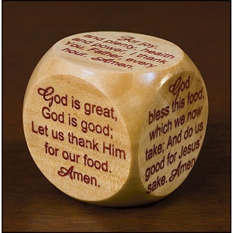 Mealtime Prayer Cube™ - 12/pk
