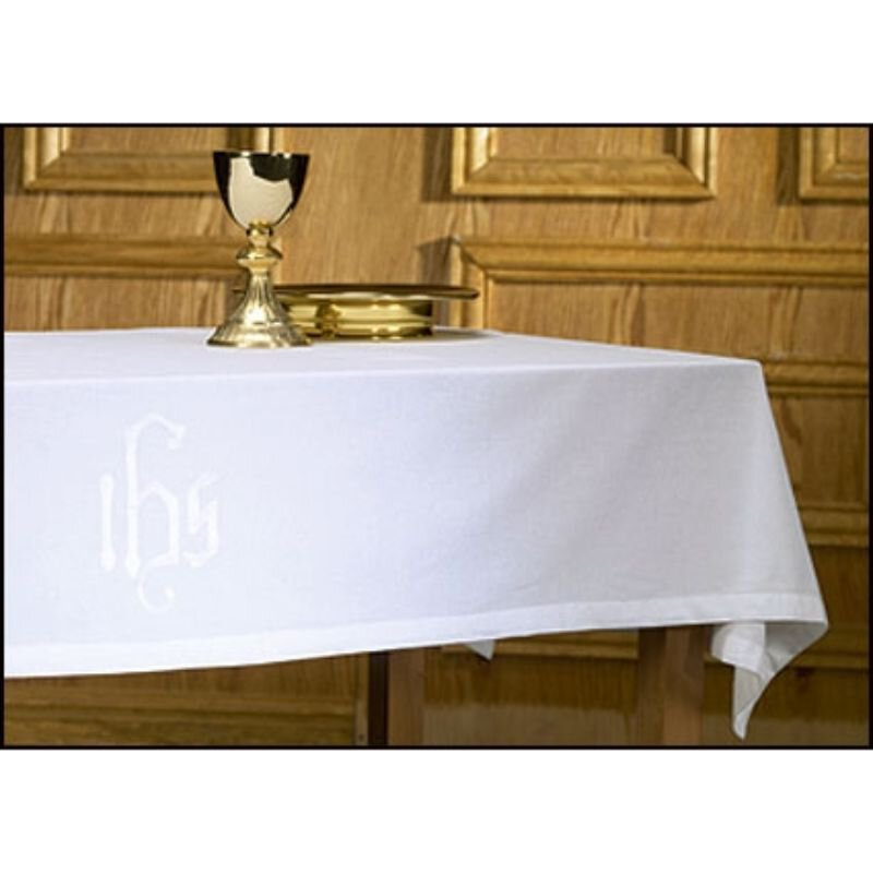 Poly/Cotton Blend IHS Altar Frontal