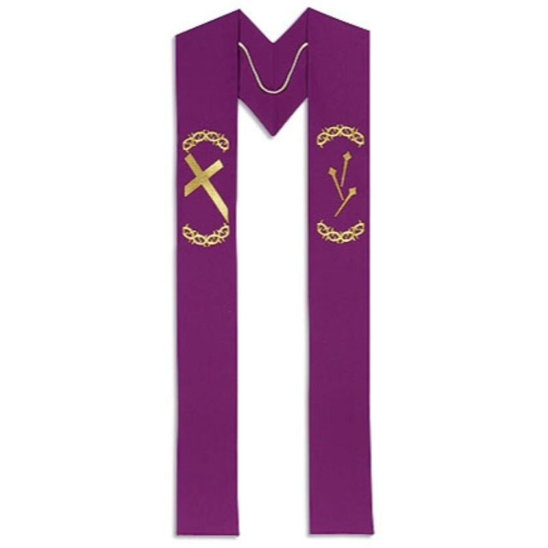 Lenten Clergy Stole