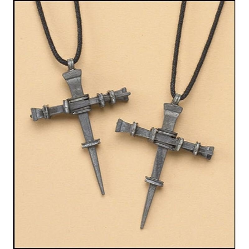 Nails Cross Necklace