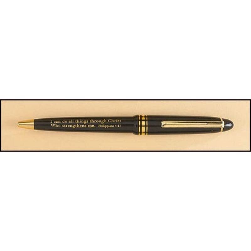 I Can Do All Things Greeting Pen - 50/pk