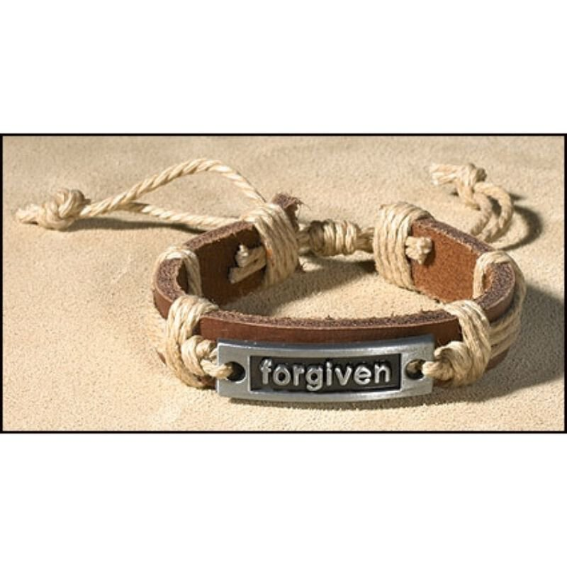 Forgiven Inspirational Bracelet - 12/pk