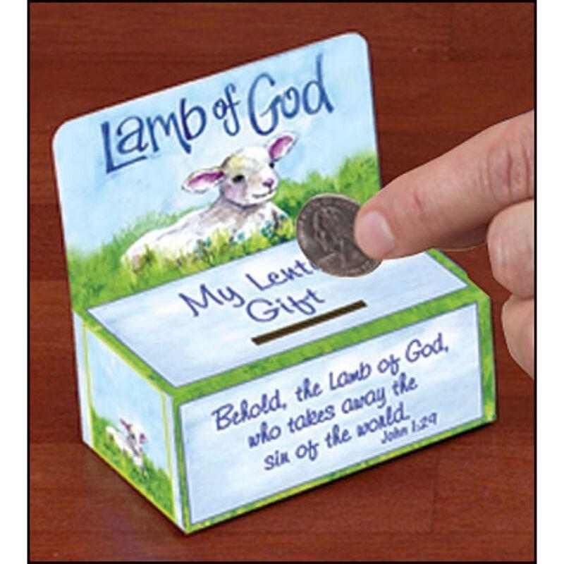 Lamb of God Lenten Offering Box - 100/pk