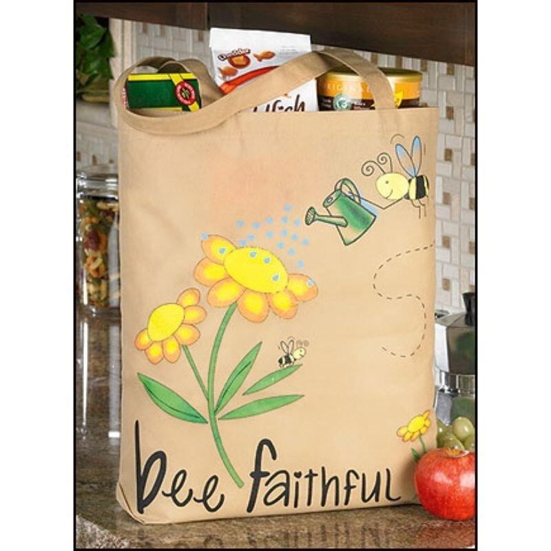 Bee Faithful Tote Bag - 12/pk