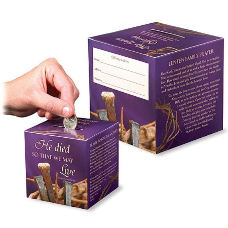 Family Lenten Offering Box - 50/pk