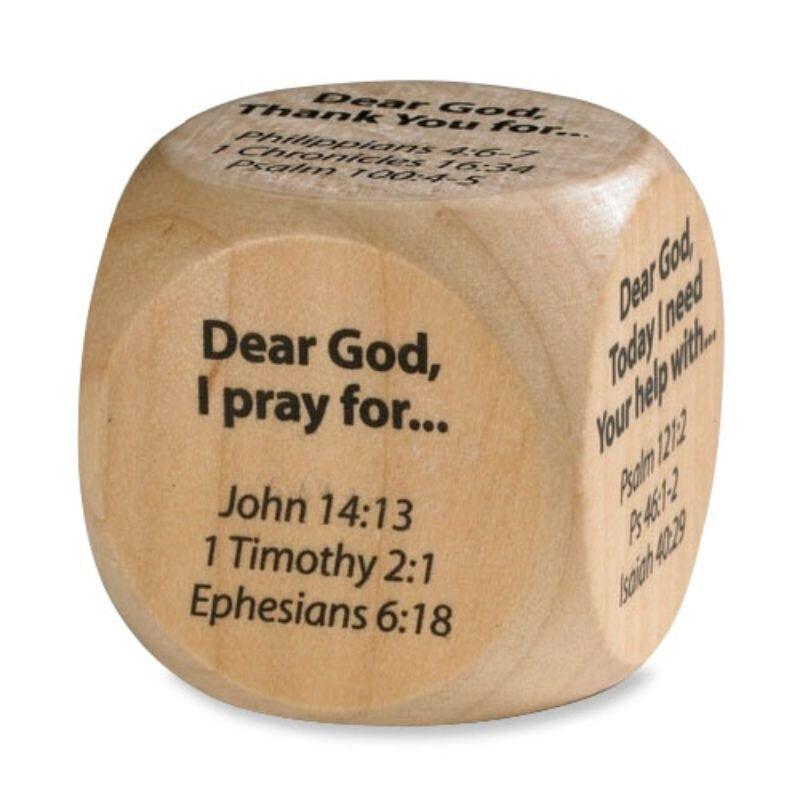 Prayer Cube  Prayer Starters - 12/pk