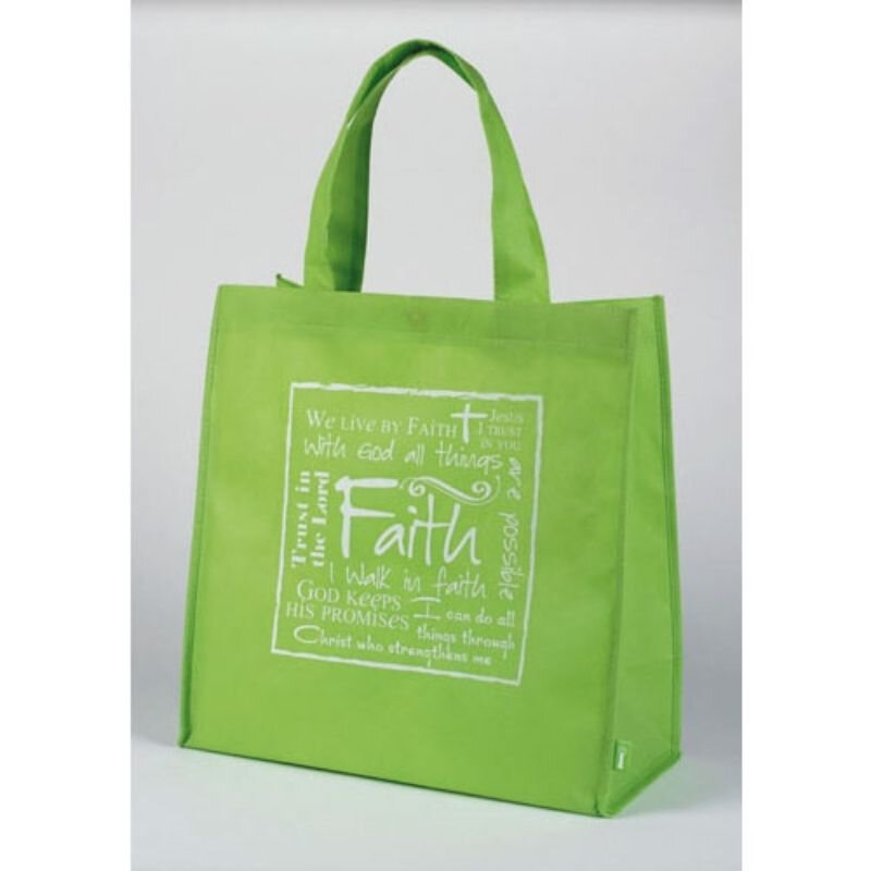Written Reflections Tote Bag - Faith