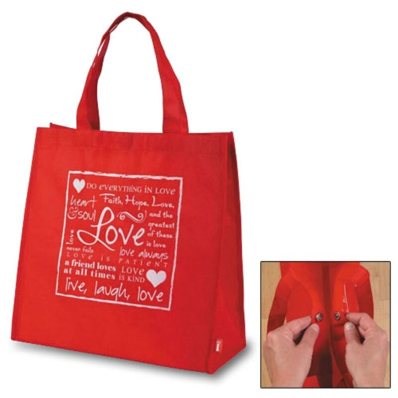Written Reflections Tote Bag - Love