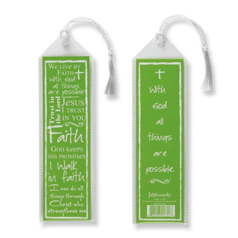 Written Reflections Bookmark - Faith