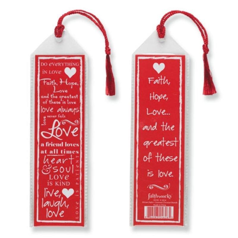 Written Reflections Bookmark - Love