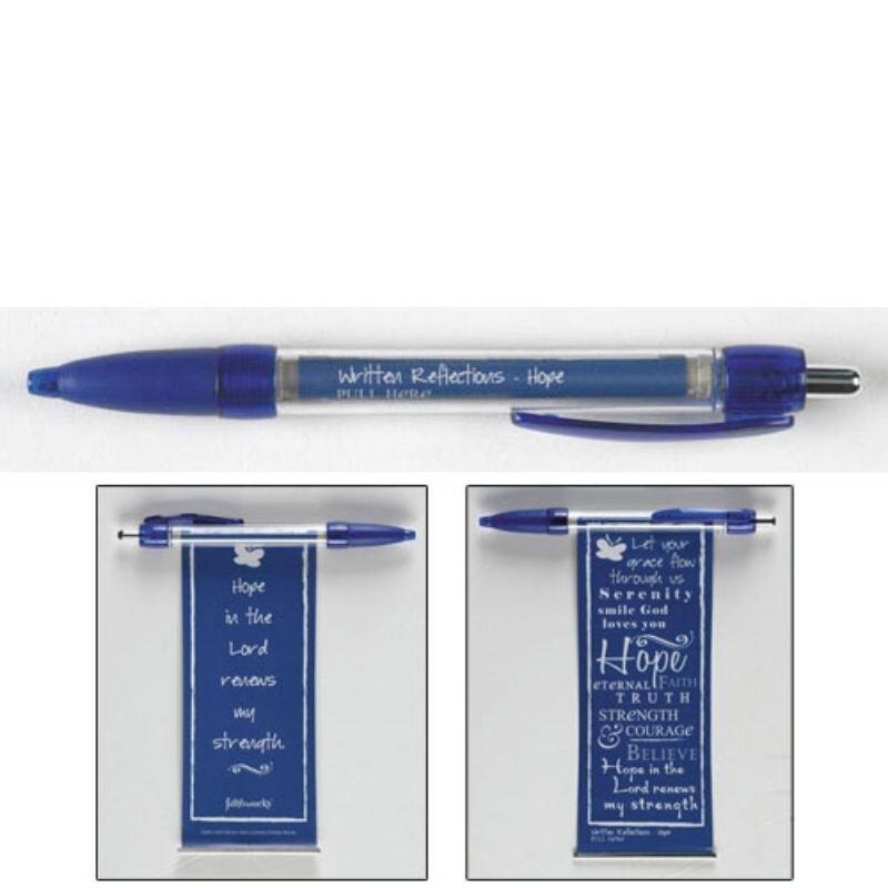 Written Reflections Banner Pen - Hope