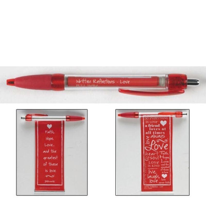 Written Reflections Banner Pen - Love